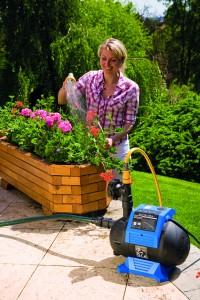 Zahradní čerpadlo tallas - s dobrým čerpadlem je kropení zahrady doslova hračkou